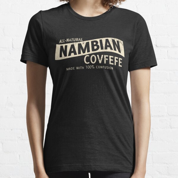 Cafetera Nambiana Natural Camiseta esencial