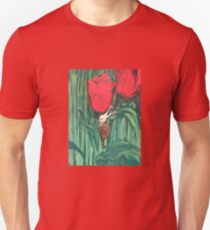 Tulips have a friend  Unisex T-Shirt