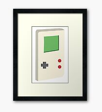 Gaming console pattern Framed Print