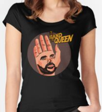 The hand of the Queen Women's Fitted Scoop T-Shirt