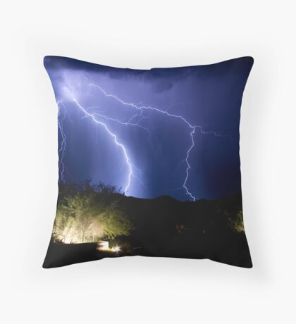 Beyond the Entrance Throw Pillow