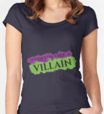 Like A Villain Women's Fitted Scoop T-Shirt