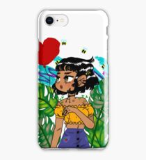Leaf girl iPhone Case/Skin