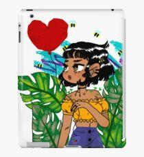 Leaf girl iPad Case/Skin