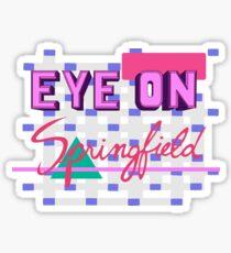 Eye On Springfield Sticker