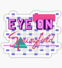 Eye On Springfield Sticker