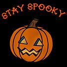 Stay Spooky Kürbis von retr0babe