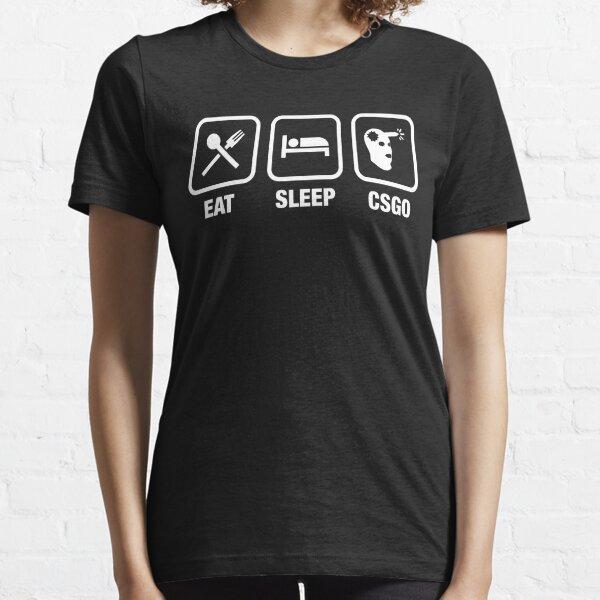 CSGO Eat Sleep Marksman Gaming Tee Essential T-Shirt