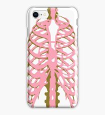 Skeletal Rib Cage iPhone Case/Skin
