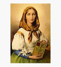 Saint Dymphna Photographic Print