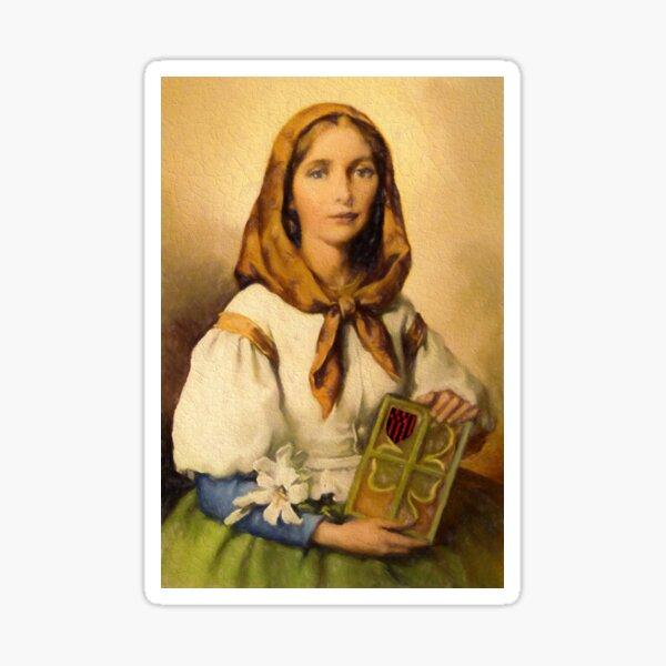 Saint Dymphna Sticker