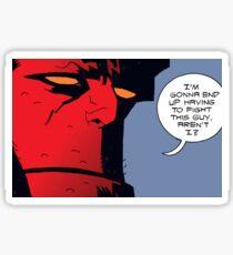 Hellboy Sticker Sticker