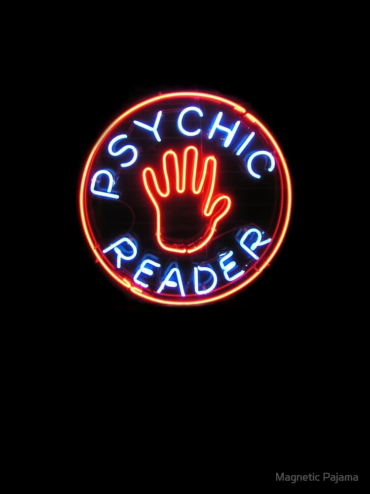 Psychic Reader // Neon City Lights by MagneticMama