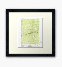 USGS TOPO Map Idaho ID Golden 236234 1962 24000 Framed Print