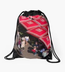 Summer Afternoon Drawstring Bag