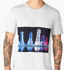 Glass Chess Pieces Men's Premium T-Shirt