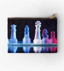 Glass Chess Pieces Studio Pouch