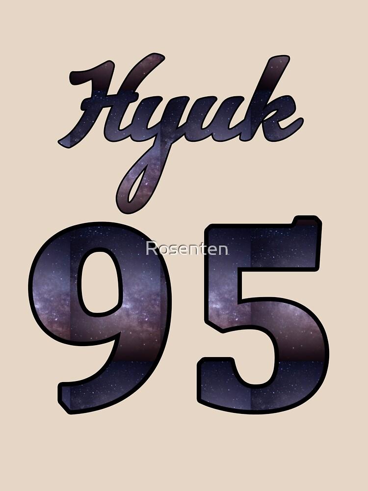 VIXX Hyuk Jersey '95 by Rosenten
