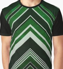 Geometric Geode - Emerald Graphic T-Shirt