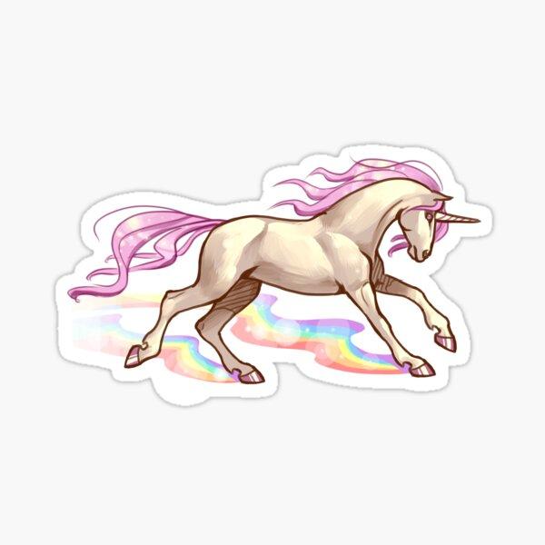Rainbow Run Sticker