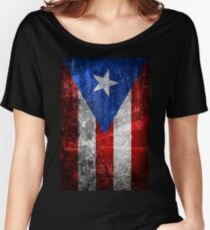 Bandera de Puerto Rico Women's Relaxed Fit T-Shirt