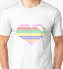 color my heart ! Unisex T-Shirt