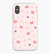 Moon Bunny iPhone Case