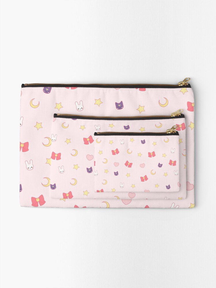 Alternate view of Moon Bunny Zipper Pouch