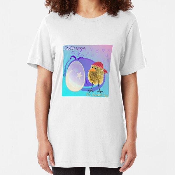 Two Scrambled Eggs - EGGsoteric Slim Fit T-Shirt