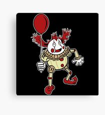We All Float Down Here Canvas Print