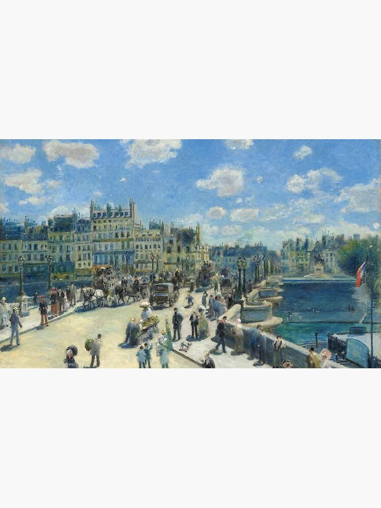 Pont Neuf Paris Painting by Auguste Renoir by podartist