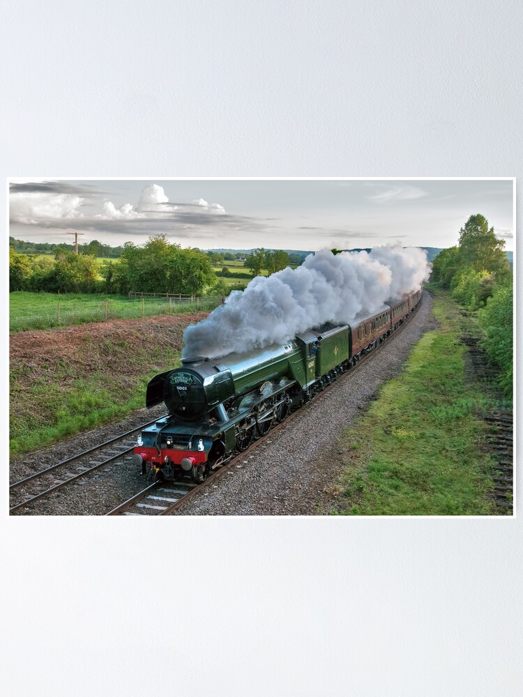Alternate view of Flying Scotsman Poster