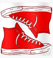 Generic Red Not Converse Poster