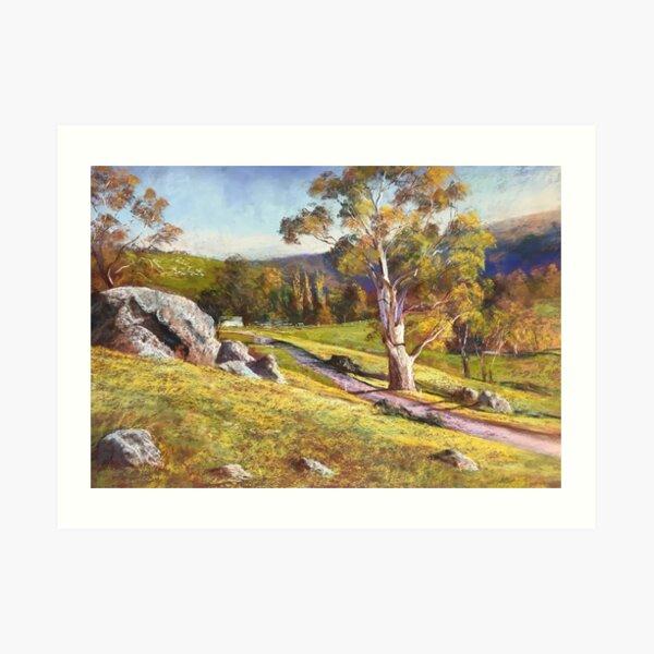 The Road to Worrough Art Print