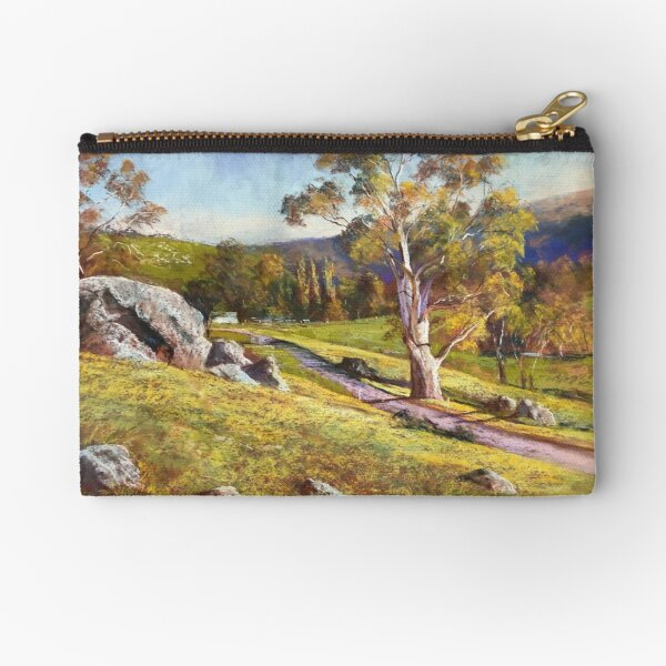 The Road to Worrough Zipper Pouch