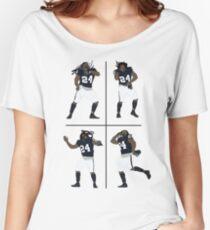 Marshawn Lynch Dancing Women's Relaxed Fit T-Shirt