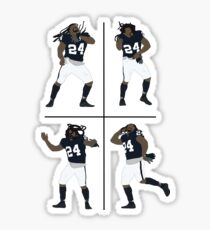 Marshawn Lynch Dancing Sticker