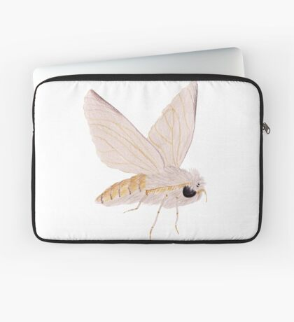 Silk Moth Laptop Sleeve