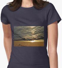 The sea shore at sunset  T-Shirt
