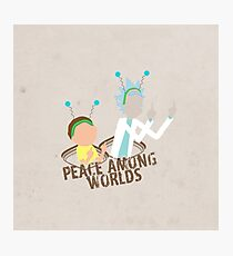 Peace among Worlds Photographic Print