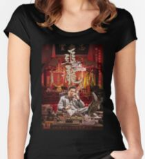 Chasing the Dragon Women's Fitted Scoop T-Shirt