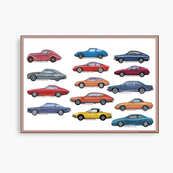 Italian sportscars 2 Canvas Print
