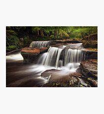 Pont Cwmyfedwen waterfall Photographic Print
