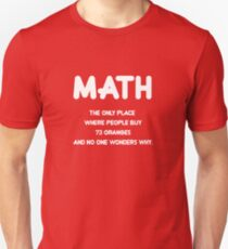 Funny: Math, science nerd humor Design T-Shirt