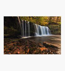 Sgwd Ddwli Uchaf waterfall country Photographic Print