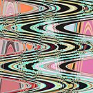 Abstract Pink and Green. by Forfarlass
