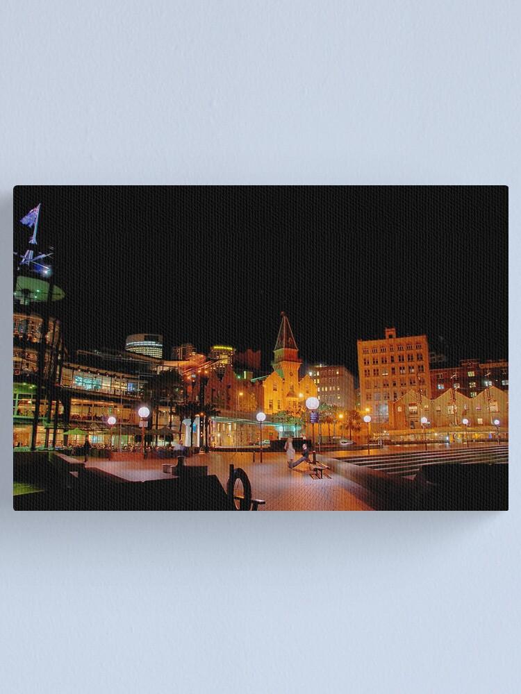 Alternate view of Circular Quay at Night III Canvas Print