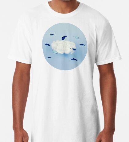 Wale um die Wolke Longshirt