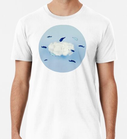 Wale um die Wolke Premium T-Shirt