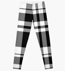 Black Stripes on Tartan Leggings